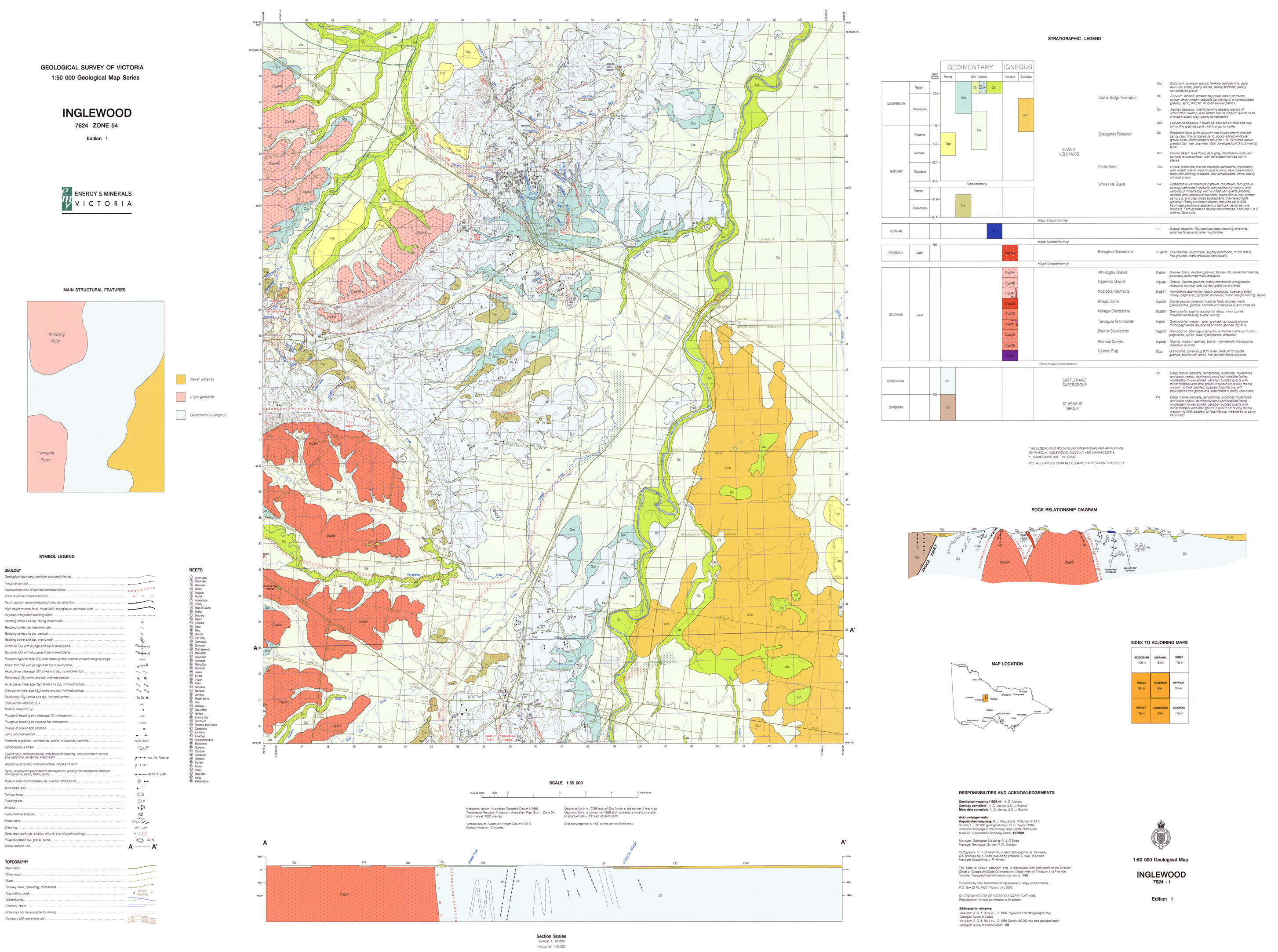 Earth Resources Energy And Earth Resources - Inglewood map